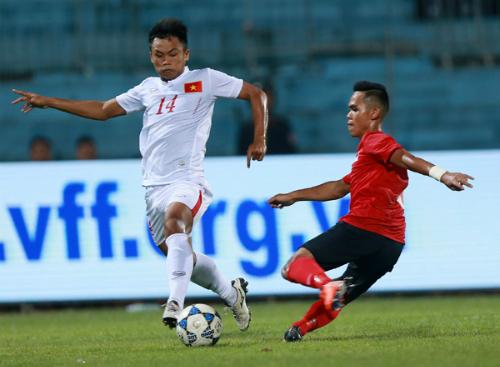 Phung phí cơ hội, U19 Việt Nam để U19 Singapore cầm hoà