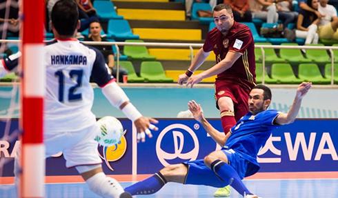 Futsal Thái Lan thua trận ra quân ở World Cup