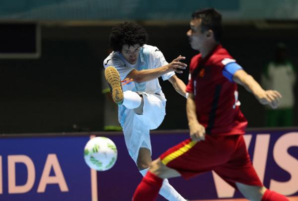 Việt Nam giành chiến thắng gây sốc trận ra quân Futsal World Cup 2016