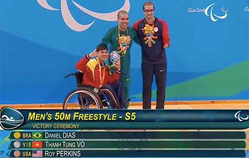 Việt Nam có thêm một HC bạc, một HC đồng tại Paralympic