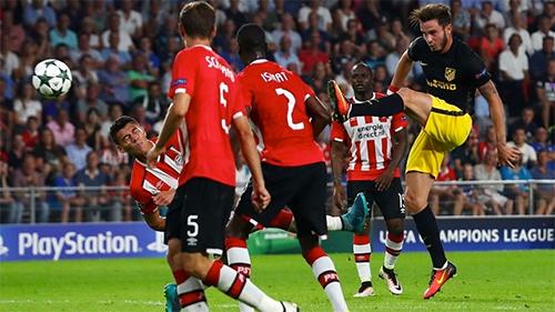 Atletico đánh bại nhà vô địch Hà Lan trên sân khách