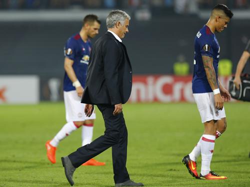 Thua trận, Mourinho ám chỉ đối thủ chỉ biết chơi phòng ngự