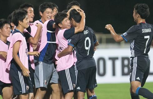 U16 Việt Nam đại bại trước U16 Nhật Bản