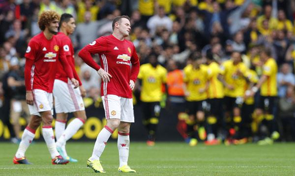 Man Utd thua trận thứ ba liên tiếp trong một tuần
