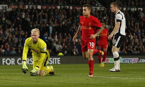 Liverpool thắng đậm, vào vòng bốn Cup Liên đoàn