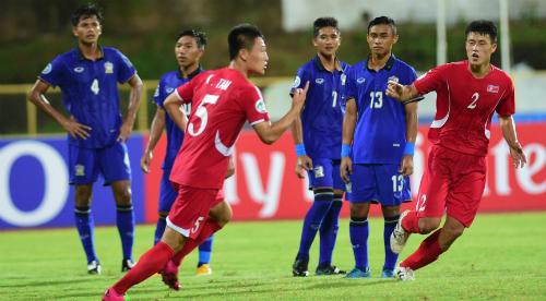 Thua đậm Triều Tiên, Thái Lan sớm chia tay giải U16 châu Á