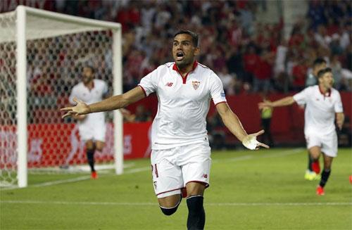 Sevilla leo lên vị trí thứ hai Liga, đuổi sát Real