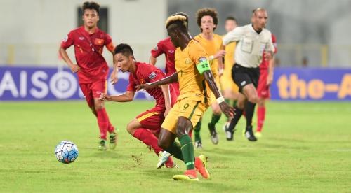 Việt Nam rộng cửa vào tứ kết giải U16 châu Á