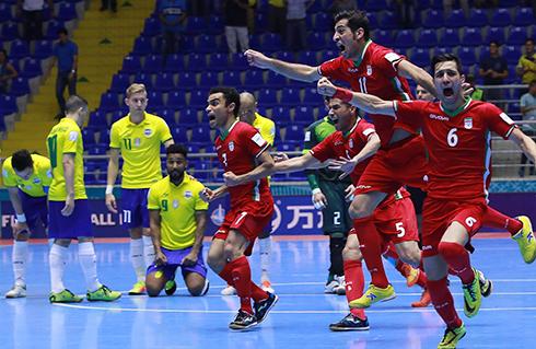Iran loại Brazil khỏi World Cup Futsal