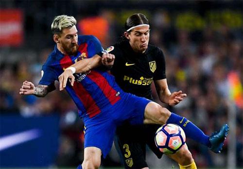 Bộ ba MSN ngừng ghi bàn, Barca mất điểm cho Atletico