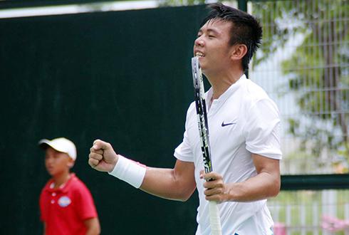 Hạ tay vợt Trung Quốc, Lý Hoàng Nam vào chung kết đơn F5 Futures