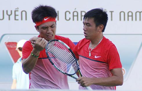 Hoàng Nam - Hoàng Thiên vô địch đôi F5 Futures