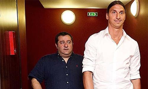 Ibrahimovic dọa bẻ chân Raiola nếu không đưa Pogba tới Man Utd