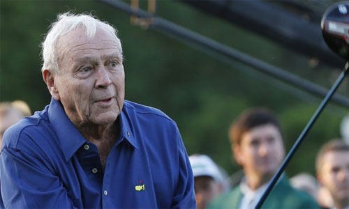 Golf thủ huyền thoại Arnold Palmer qua đời ở tuổi 87