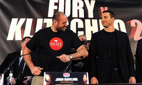 Klitschko chán nản vì Fury liên tục hoãn trận đấu
