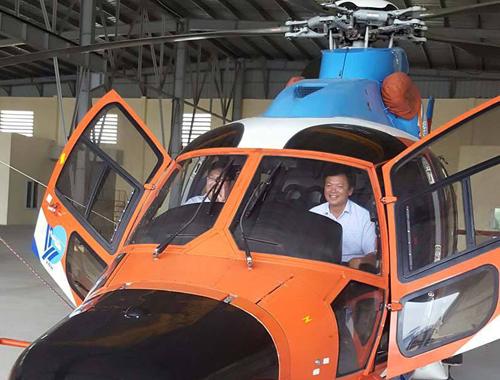 CĐV dùng trực thăng rước Cup từ Hà Nội về Hải Phòng