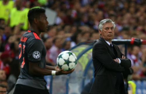 Ancelotti thất vọng với màn trình diễn vô hại của Bayern