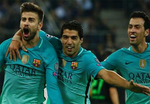 Hàng công tịt ngòi, Barca vẫn kiếm trọn ba điểm ở Champions League