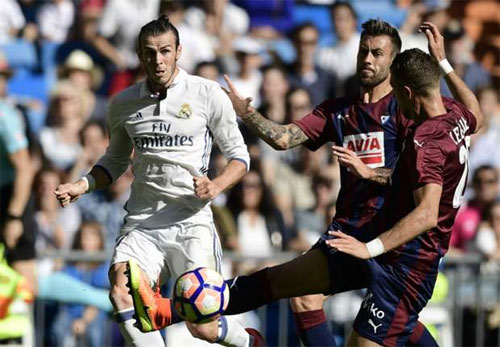 Real Madrid 1-1 Eibar: Bất ngờ tại Bernabeu