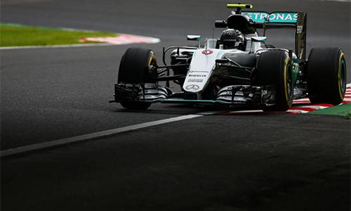 Rosberg giành pole tại Grand Prix Nhật Bản - ảnh 1