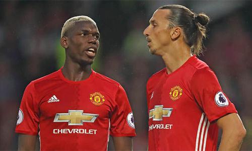 Ibrahimovic, Pogba bị chê thiếu tinh thần đồng đội ở Man Utd