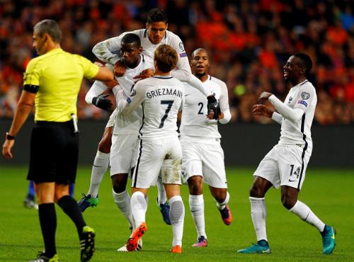 Pogba ghi bàn duy nhất, Pháp đánh bại Hà Lan