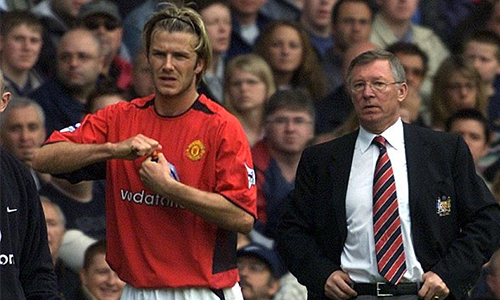 Ferguson từng thịnh nộ vì Beckham xin đi máy bay tới sân tập