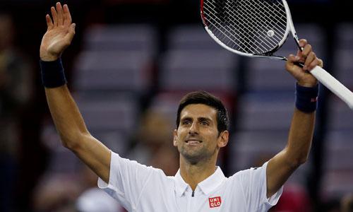 Djokovic vào tứ kết Thượng Hải Masters