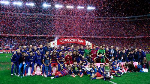 Barca lần đầu qua mặt Real về khoản kiếm tiền