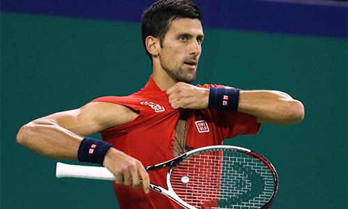 Djokovic bị loại ở bán kết Thượng Hải Masters