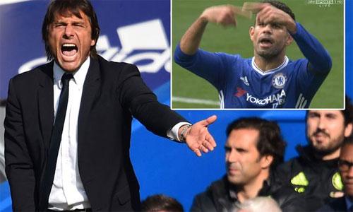 Conte từ chối khi Costa xin ra nghỉ trong trận thắng Leicester