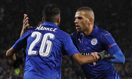 Leicester thắng trận thứ ba liên tiếp ở Champions League