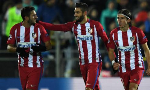 Atletico tiếp tục điệp khúc thắng 1-0 tại Champions League