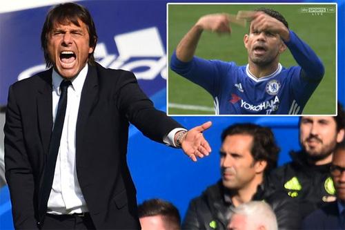 Conte cảnh cáo thái độ của Costa