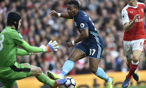 Middlesbrough khiến Arsenal đứt chuỗi sáu trận thắng