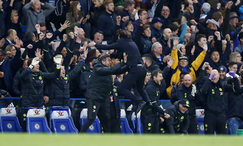 Mourinho xem kiểu ăn mừng của Conte là sự sỉ nhục