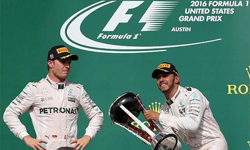 Hamilton về nhất ở GP Mỹ, rút ngắn cách biệt với Rosberg - ảnh 1
