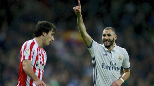 Morata giúp Real chiếm vị trí dẫn đầu Liga