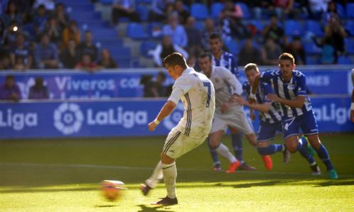 Ronaldo ghi bao nhiêu bàn từ chấm phạt đền tại La Liga?