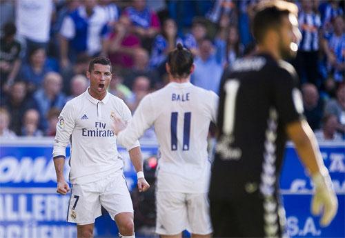 Ronaldo đạt mốc son mới trên bảng thành tích ghi bàn