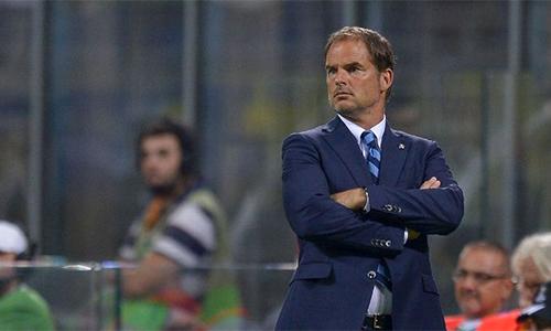 Inter Milan sa thải HLV Frank de Boer