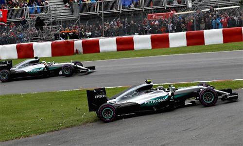Vì sao hai tay đua Mercedes không bị phạt tại GP Mexico? - ảnh 2