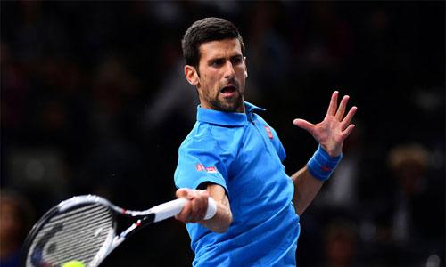 Djokovic và Murray đi tiếp ở Paris Masters