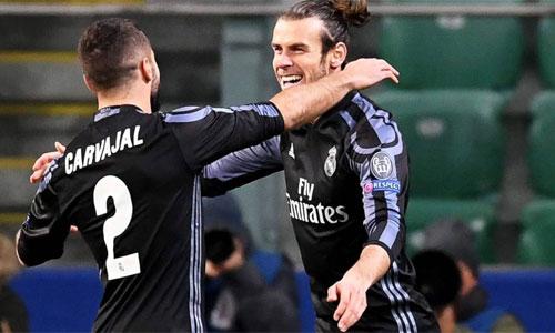 Bale ghi bàn nhanh nhất lịch sử Real tại Champions League