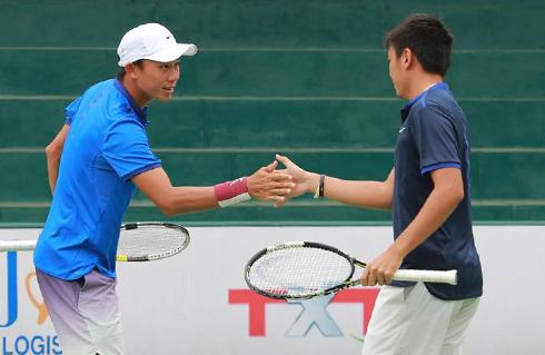 Lý Hoàng Nam vô địch đôi nam F9 Futures