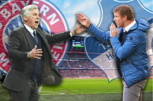 Ancelotti - Nagelsmann: Sự tương phản giữa lòng nước Đức