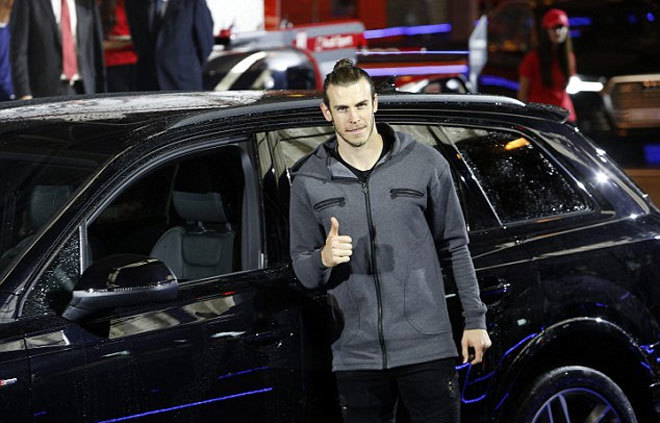 Mỗi cầu thủ Real được tặng một chiếc xe mới - ảnh thể thao