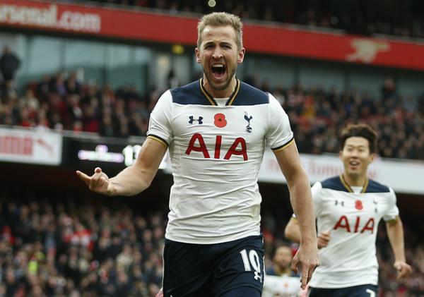 Harry Kane khiến Arsenal không thể lên đỉnh Ngoại hạng Anh