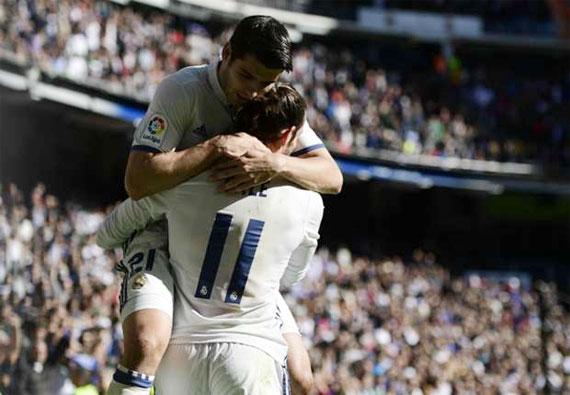Bale chói sáng, Real bứt phá khỏi nhóm xếp sau