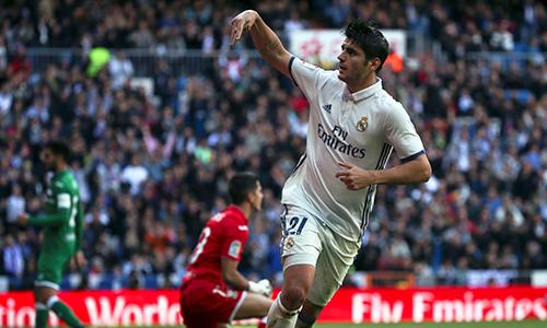 Morata vượt bộ ba BBC dẫn đầu danh sách ghi bàn của Real